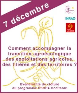7 décembre - évenement PSDR4 Occitanie