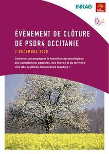 Page de couverture - livret évènement PSDR4 Occitanie