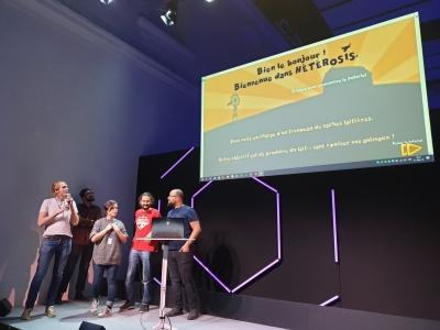 Julien Quenon et son équipe remportent la SCIENTIFIC GAME JAM 2019 du Quai des Savoirs de Toulouse