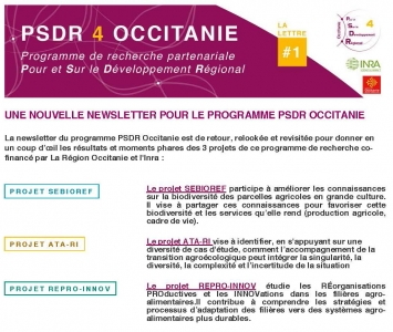 Header nouvelle newsletter PSDR4 Occitanie
