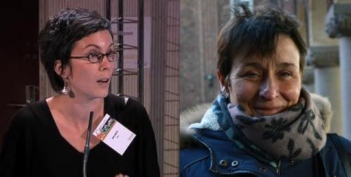 Julie Labatut et Nathalie Couix