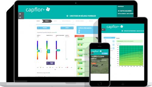 L'outil Capflor en ligne