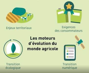 Moteurs d'évolution du monde agricole